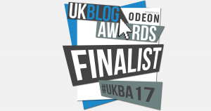 UK Blog Awards Finalist